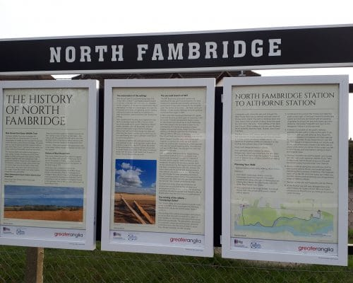 Seven New History Boards Installed
